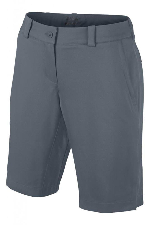 Nike Women's Dri-Fit Modern Rise Tech Golf Shorts-Armory Slate