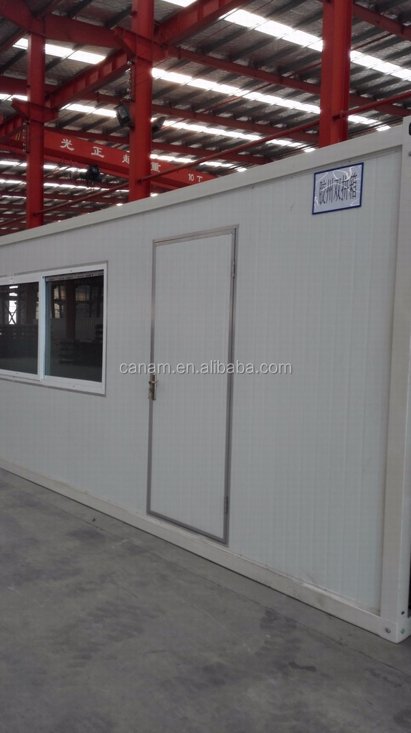 Galvanized light weight steel frame joint bed house