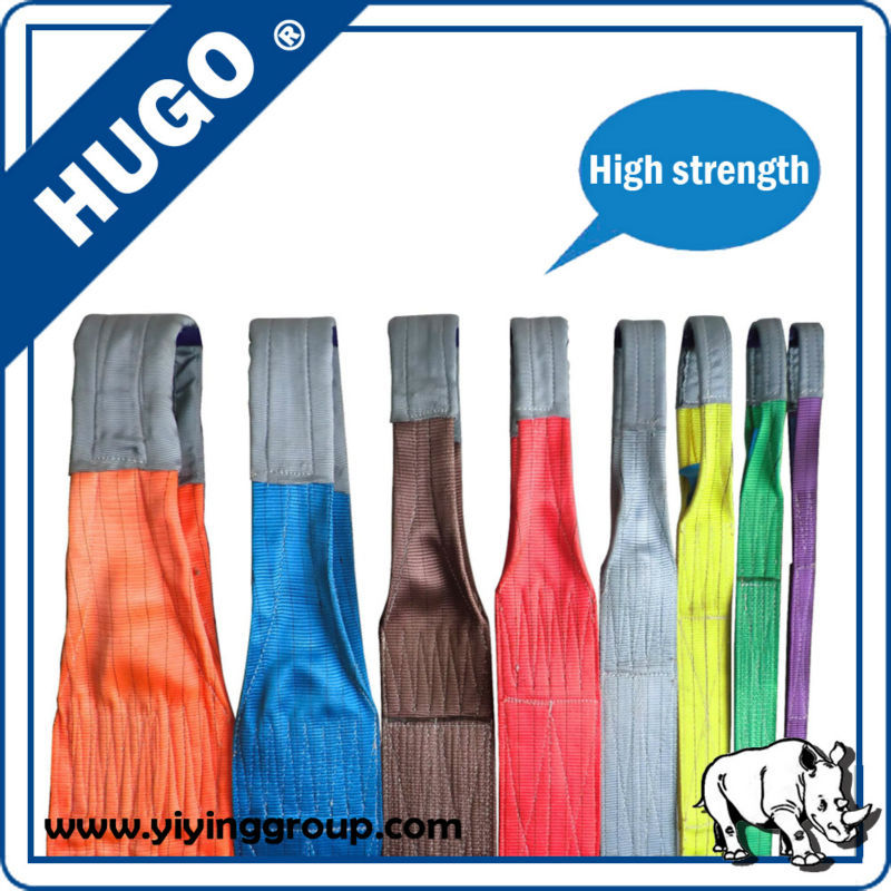 Chinese Supplier Lifting Sling High Safety Lifting Belt Sling ...