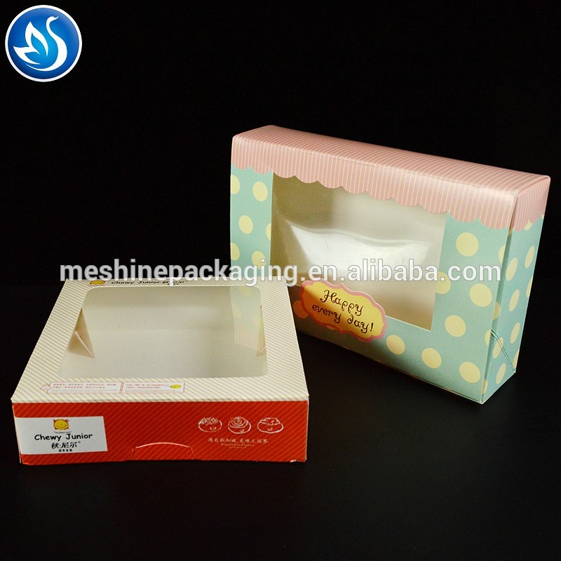 Chocolate Box for Candy Cake Macaron Favor Packing Wedding Cake Boxes