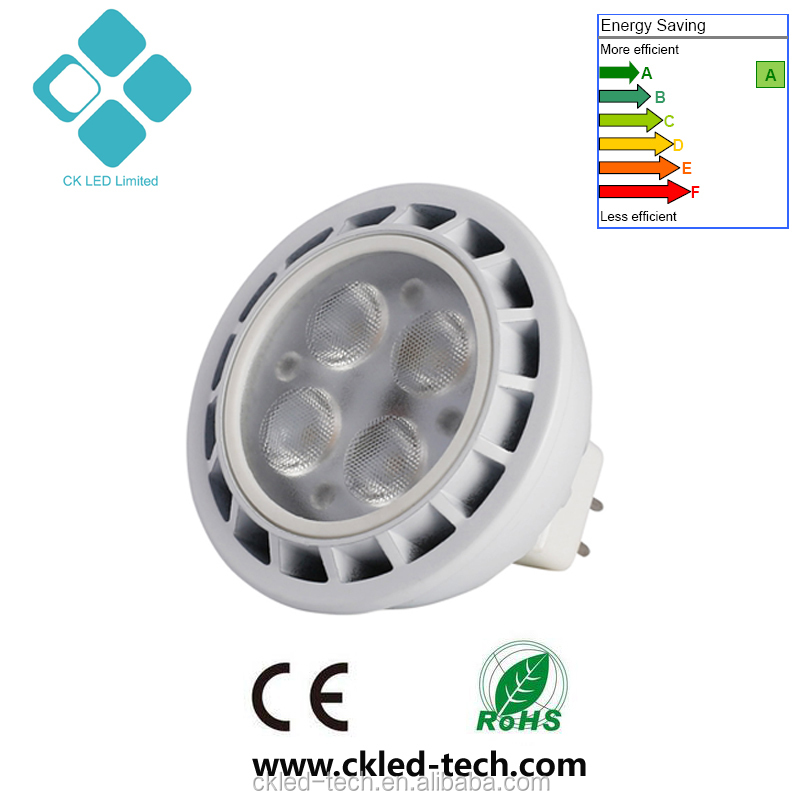 High quality mr16 indoor led <strong>spotlight</strong> 3030smd 4w 480lm replace 40w halogen <strong>spotlight</strong>