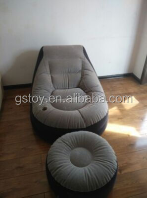 inflatable sofa with foot pad furniture living room