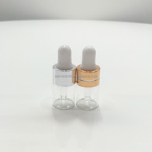 cosmetic packaging empty glass perfum bottle 1ml glass vial