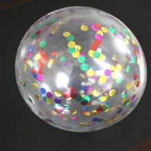 plastic plain confetti latex filled gas helium balloons in bulk