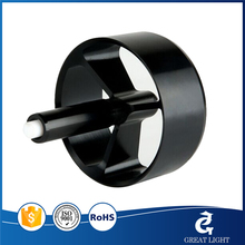 Precision CNC Motor Black Anodized Aluminum Parts