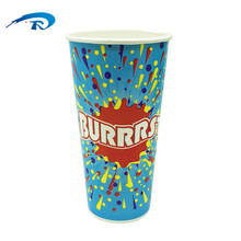 6oz 8oz 12oz PE Coated Disposable Double Wall Paper Cup for Coffee and Tea