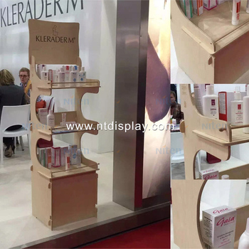Cardboard Body Oil Counter Top Display Rack Wooden Soap Display Box Beauteous Soap Display Stands