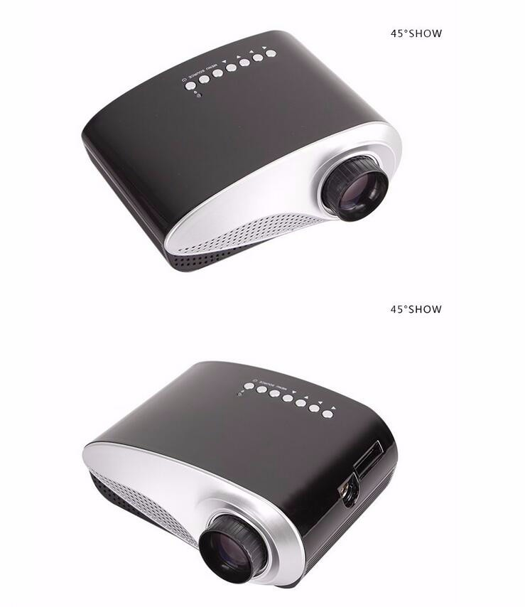 2016 lowest price mini led projector rd 802 portable for Handheld projector price