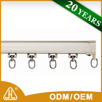 Import China Goods Industrial Mechanical Curtain Pulley Track System