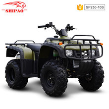 SP250-10 Shipao Through the forest quad bike trailer