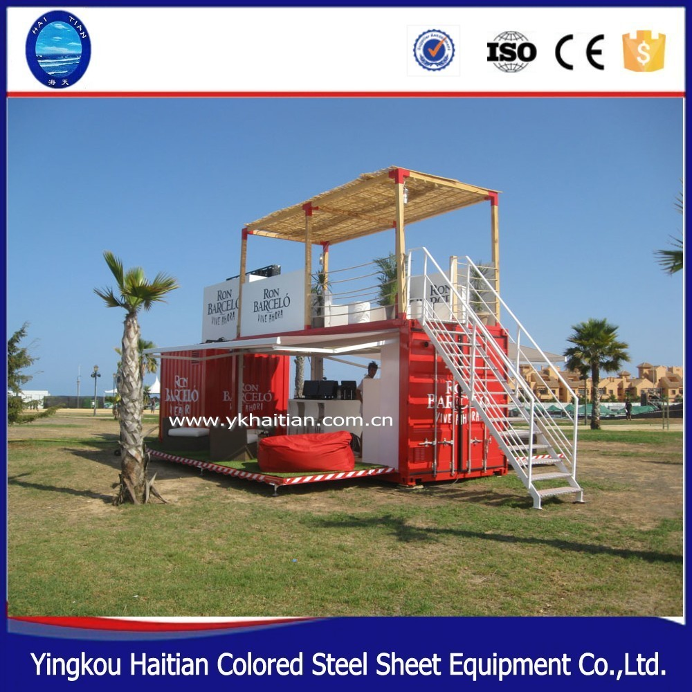 Portable Shop Building Shipping Mobile Fast Food Container