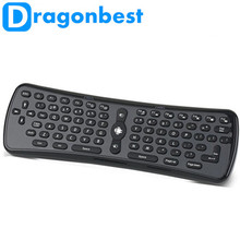 Mini <span class=keywords><strong>teclado</strong></span> 2,4 GHz inalámbrico Gyro volar/del ratón del <span class=keywords><strong>teclado</strong></span> de aire T6 Air Mouse Fly Air Mouse iver i8 T2 ¡en stock!