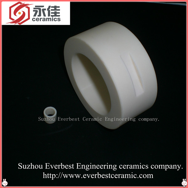 Anticorrosive high strength Alumina ceramic sleeve
