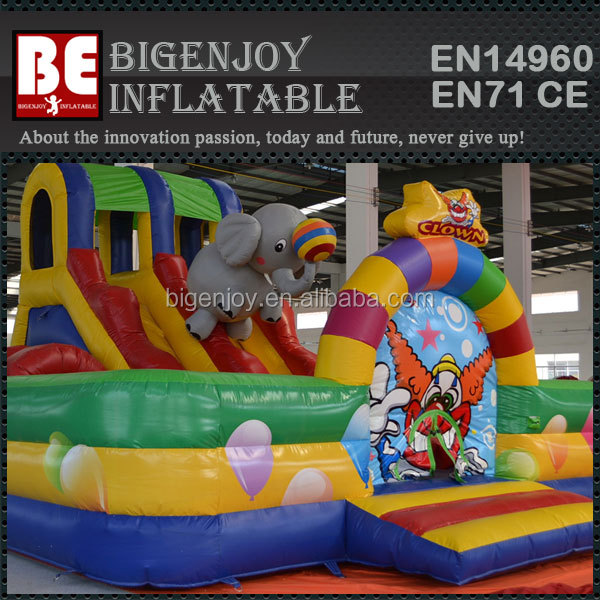 Cartoon and Interesting Animal Zoo Circus Inflatable Fun City