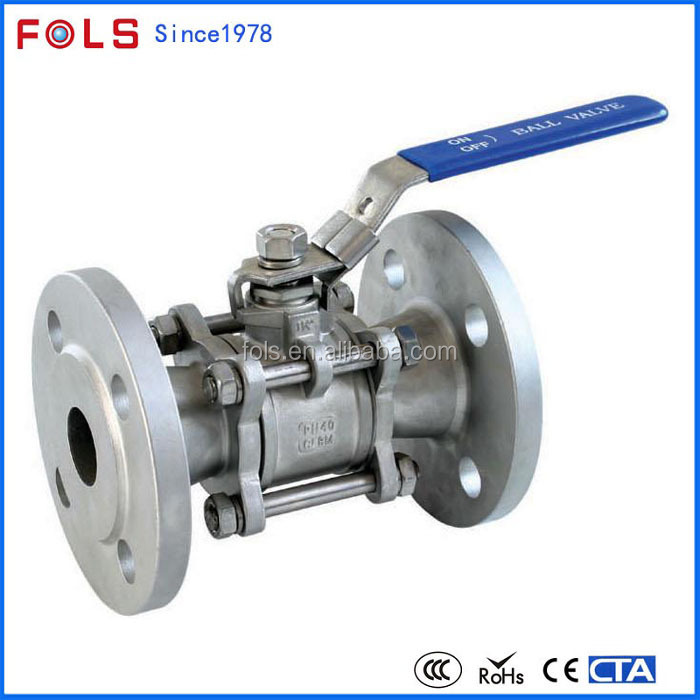 stainless steel ball valves NPT end 3 pcs small water valve