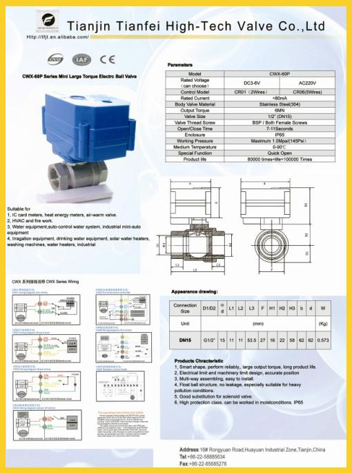 Cwx-60p Large Torque Max6nm Dc3~6 Dc12v Ac/dc9~24v Ac220 Ac85~265v ...