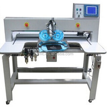 Guangzhou cheap used t shirt heat press machine automatic ultrasonic hotfix rhinestone setting machine for garment
