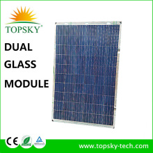 High quality cheap price top brand Double-Glass Dual-glass solar panels for solar power system