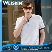 washed hot sale 100% organic cotton black long sleeve plain t shirt