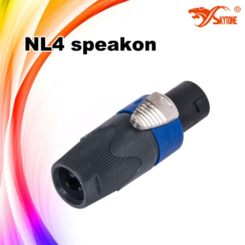 Professional Audio Nl4 Speakon Wiring Cable Connector Female Buy Jack Connectorcable Connectorwiring Product On