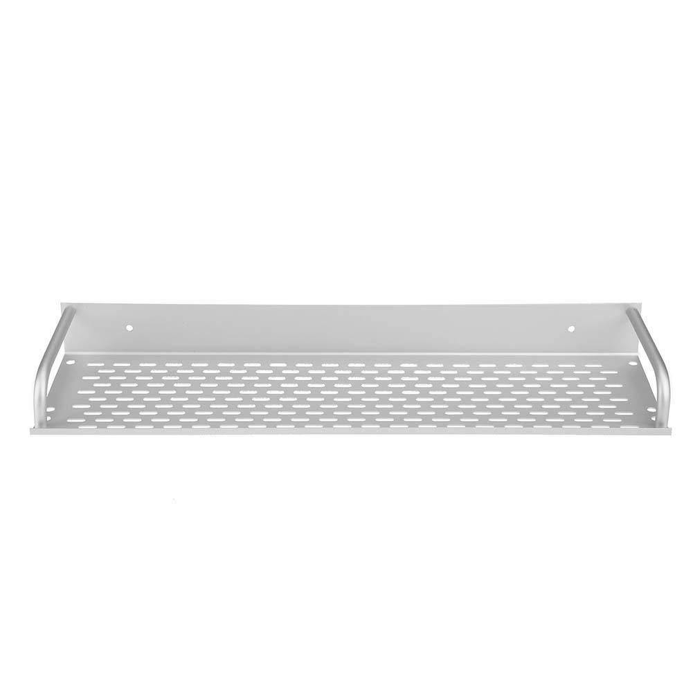 WinnerEco Space Aluminum Single Tier Rectangle Kitchen Bathroom Storage Rack Shelf