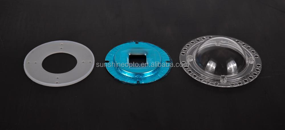 120mm diameter Cover Lens for LED Spotlight