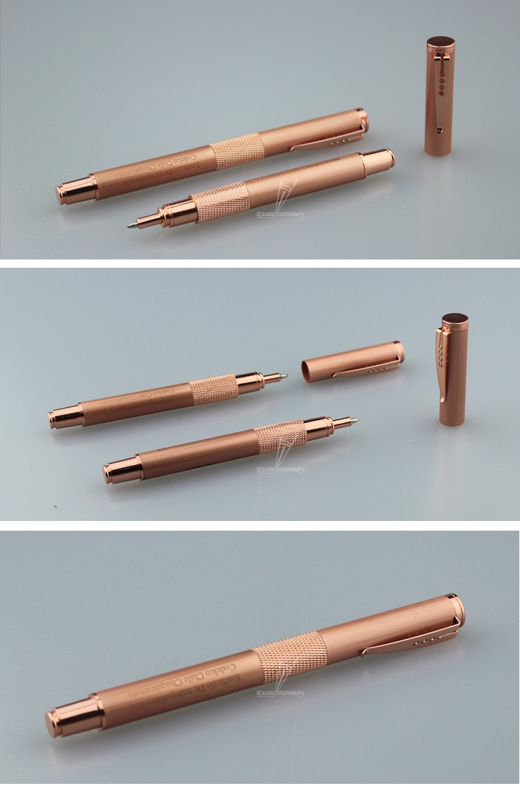 Low Price Kasun Metal Ballpoint Pens High End Gold For