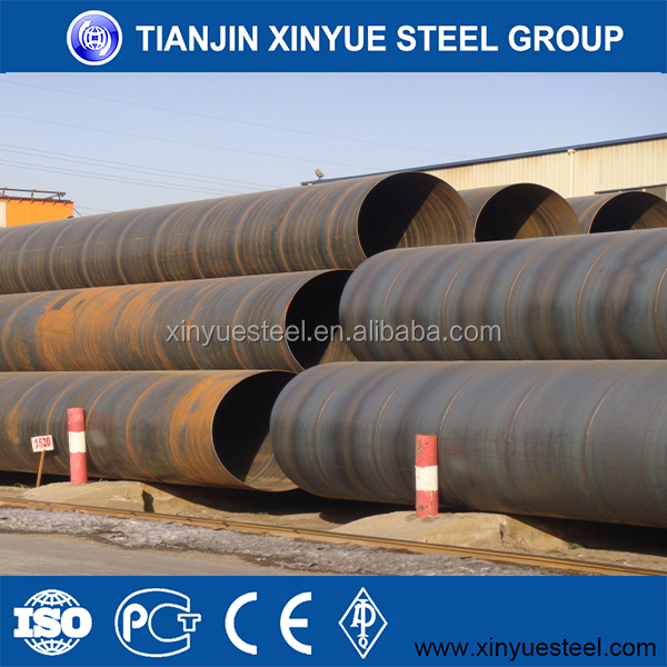 Gas Water Oil Transportation SSAW Carbon Steel Pipe Types of Carbon Steel Pipe