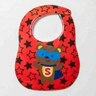 Hot Selling Baby waterproof cute baby bib for baby