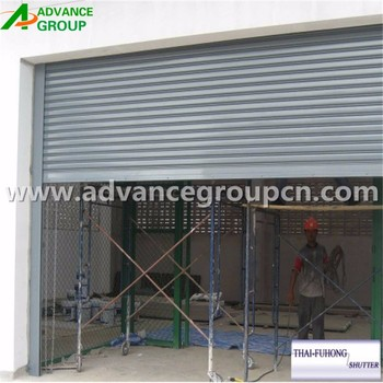 Patio Door Security Shutters With High Security 1.2mm Thickness