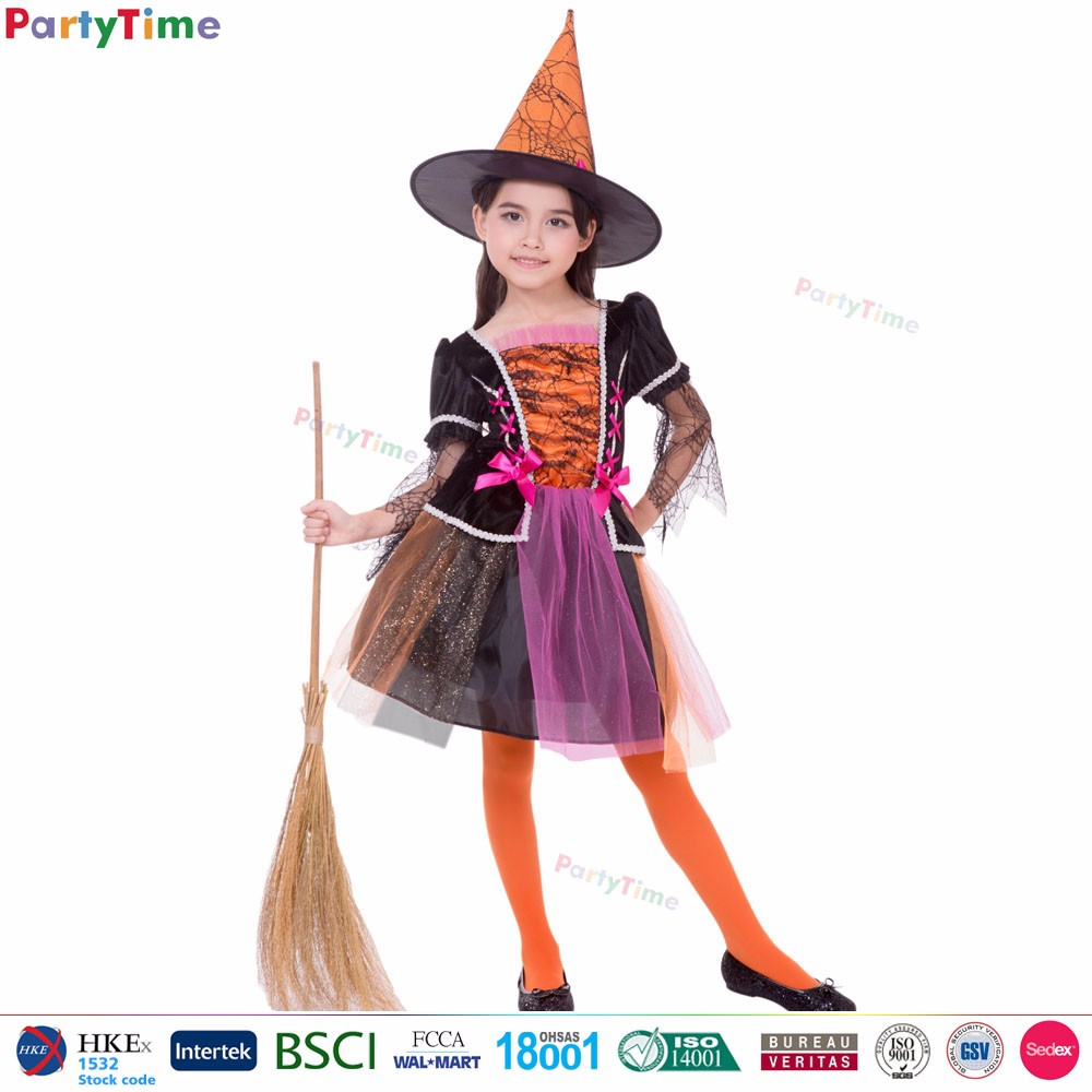 9312f62d192 Party Time Brand Used Halloween Costumes Sale Orange Mischievous Witch  Costumes Girls Halloween Costumes - Buy Girls Halloween Costumes,Party ...