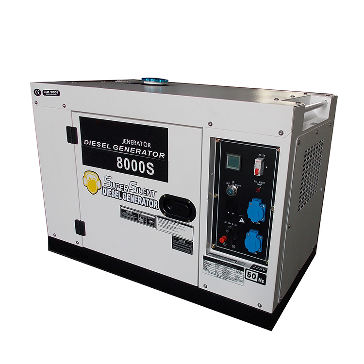 New type hot sale 6kw 7kw silent <strong>diesel</strong> power generator