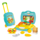 kitchen set toy pretend play series kids luggage included kids cashier set for toy fruit and vegetables 21PCS