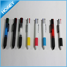 Fancy design multi color ballpoint pen ideal for promotion
