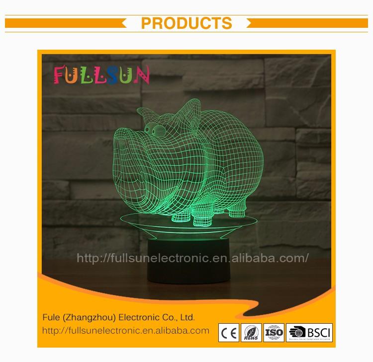 Buy D'illusion 3d lumière Veilleuse Enfants Fs veilleuse 3d Enfant Product On Lampe 2866 Illusion Led Chevet Sanglier kZXOwPiuTl