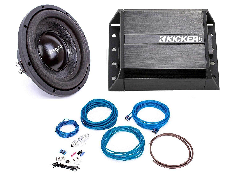Buy Skar Audio EVL-65 D2 400 Watt Subwoofer with Kicker 42PXA200.1 ...