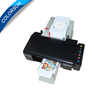 Automatic Cd /dvd making machine printer,51 pcs Cd/pvc card tray for free