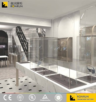 2017 NEW RJM0553 Attractive Jewellery Showroom Design Shop Furniture Counter Display Shopping