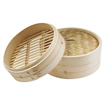 Dim sum commercial cookware noodles cooker bamboo steamer