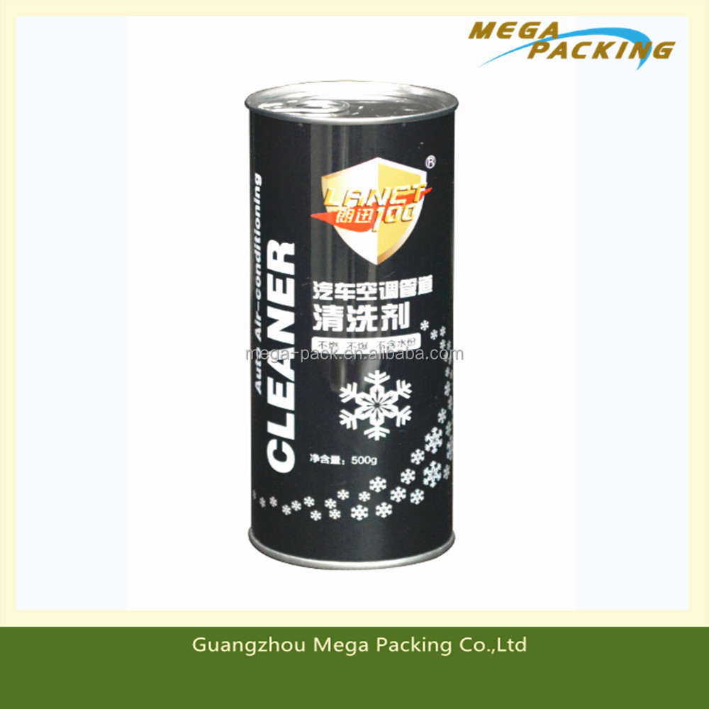metal oil can for car/chemical use/cleaning agent