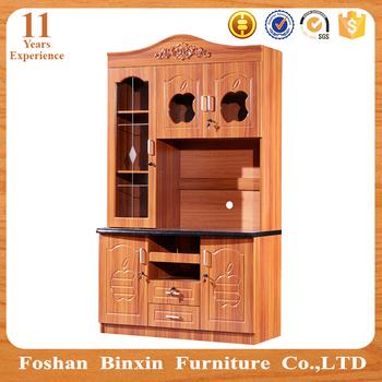 Arabia Style Pvc Door Modular Mdf Kitchen Cabinet