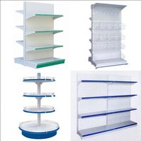 gondola shelf store metal display rack supermarket equipment
