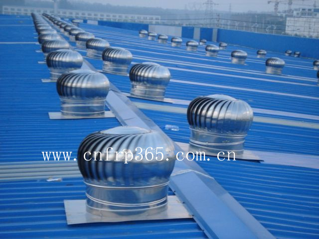 Picture Of Roof Ventilator Turbo : Roof ventilator mill on a metal