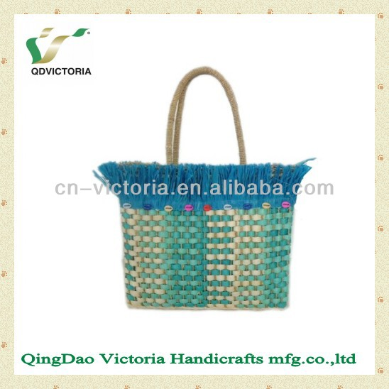 Ladies' Fashion Corn Husk Handbag