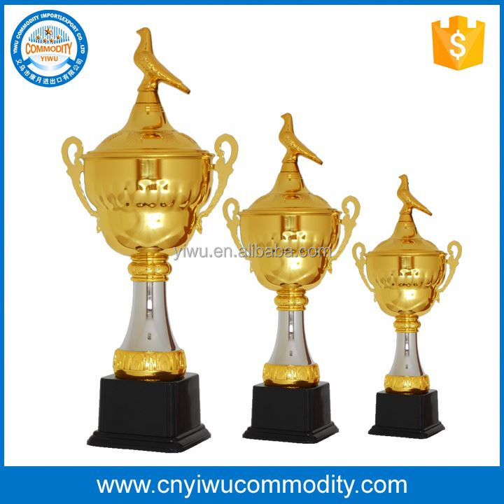 pewter trophy style and sculpture product type golf award trophy,metal panda trophies,wholesale trophy