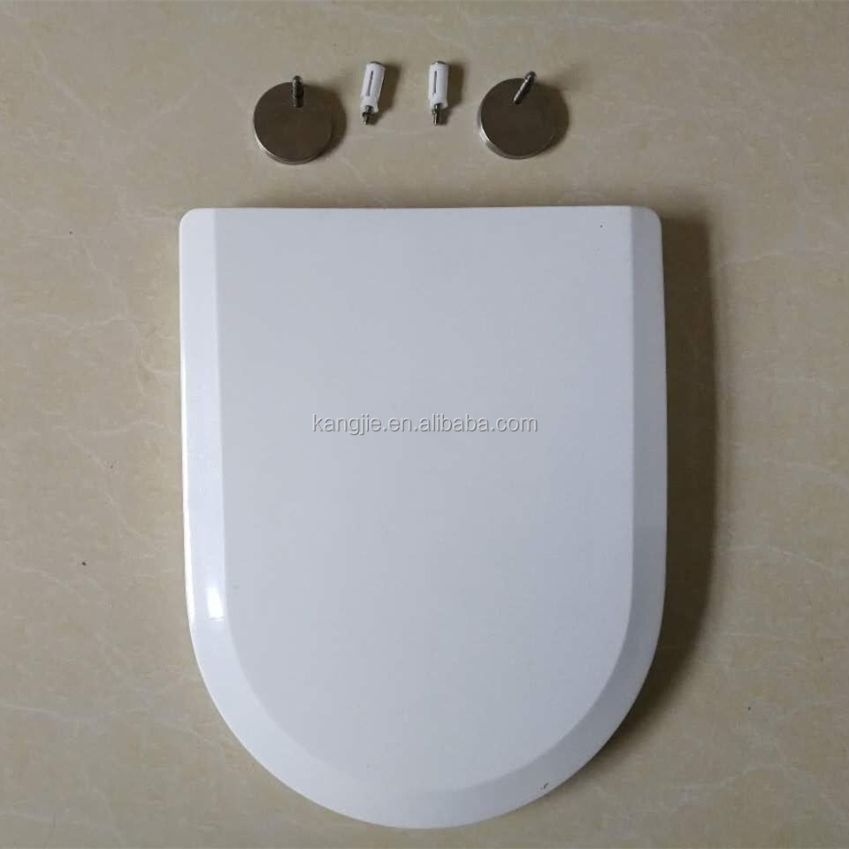 Steel hinge toilet seat,Soft close plastic toilet seat