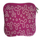 Fashion printing neoprene laptop sleeve for macbook pro