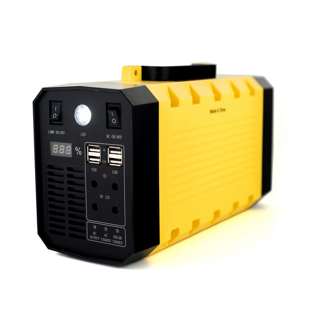 500W Outdoor Mobile Power 220V Sine Wave UPS Portable Medical AC Energy Storage Power