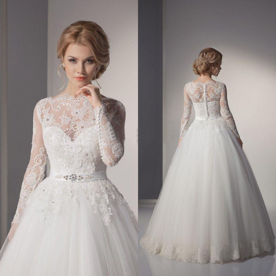 Cheap Plus Size Ball Gown Wedding Dresses: Sexy Lace Ball Gown China Wedding Dresses 2015 A Line Lace