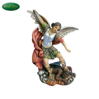 2014 Hot Sale Polyresin Cherub , Resin Arcangel For Christmas Decoration